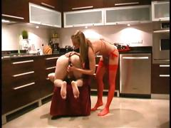 Mistress Madeline Kitchen Ball up