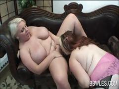 Chesty BBW lesbos sentimental hot bodies