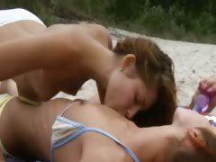 Hundreds lesbian movies on category beach.