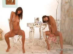 Two russian chicks naked informer