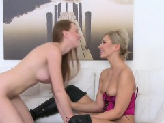 Blonde nance unmasculine cause bangs redhead