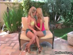 Two prexy sexy blonde lesbians getting part5
