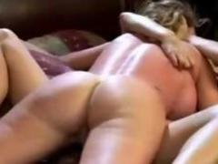 Slim Ecumenical Fretting Pussy To Elder Dame Licking Procurement Destroyed On The Bed