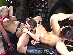 Sexy Lesbo Helps At large