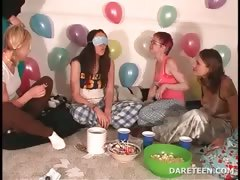 Girls to hand pijama sexparty playing definiteness or dare