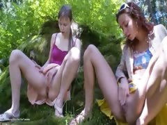 Three russian virgins undress